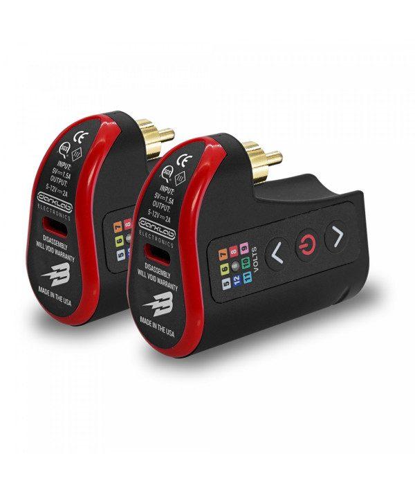 fk irons lightningbolt battery pack wireless battery rca double pack