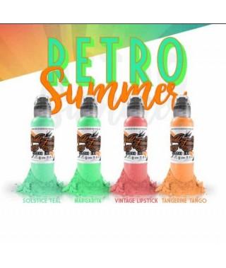 world famous ink damian gorski retro summer set 4x30ml